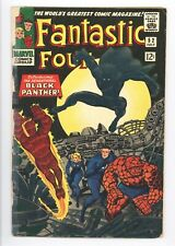 Fantastic Four #52 Vol 1 Nice Low Grade 1st App of the Black Panther