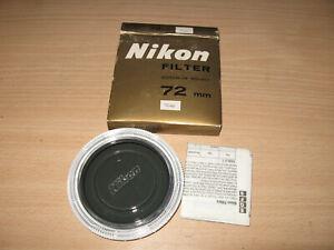 NIKON 72MM ND4X ND4 ND FILTER NOS