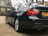 2007 BMW 335D M Sport - E90 Saloon - I DRIVE - Sat Nav - Heated Seats NO RESERVE