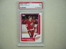 1986/87 TOPPS NHL HOCKEY CARD #11 STEVE YZERMAN PSA 7 NM SHARP!! 86/87 TOPPS