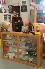 Vintage  display cabinet shop cupboard storage
