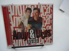 ANDY & LUCAS En Su Salsa CD NEW