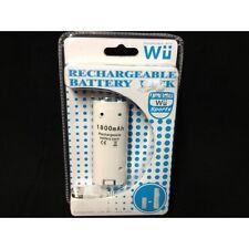 batteria ricaricabili per controller nintendo wii compatibile bianca