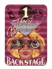 Original Backstage Pass The Beach Boys 1 girl binoculars purple satin stickyback