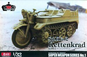 ZOUKIE MURA 1/32 WWII German SdKfz.2 Kettenkrad SWPS01