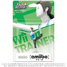 New Nintendo Amiibo Wii Fit Trainer ❤ Super Smash Bros. figure Wii U / 3DS Japan