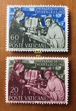 EBS Vatican City Città del Vaticano 1953 Bernard of Clairvaux 171-172 MNH** $16