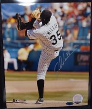 DONTRELLE WILLIS AUTOGRAPHED SIGNED 8x10 PHOTO ACTION SHOT FLORIDA MARLINS