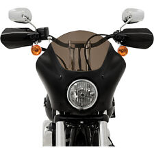 Memphis Shades Black Opaque Hand Guards for Harley Dyna Sportster Softail FLHR