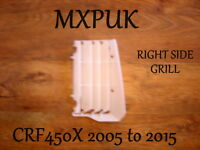 CRF450X Right Side Radiator Grill Guard Brand New CRF 450X 19033-MEY-670 (154)