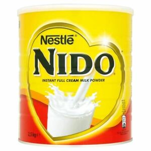 Nestle Nido Instant Full Cream Milk Powder, 2.5 kg