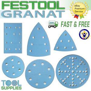Festool GRANAT Sanding Discs Abrasives RO ETS P 40 80 90 120 180 240 150 mm Grit