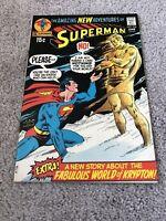 Superman #238 Fabulous World Of Krypton!!  Higher Grade Bronze Age Gem!!