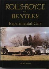 Rolls Royce & Bentley Experimental Cars 'EX' Chassis Goshawk Pre & Postwar Cars