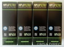 KTM Adventure 950 / 990 / 1050 / 1190 / 1290 Hiflo Oil Filter (HF650) x 4 Pack