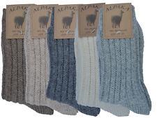 EXTRA DICKE Wollsocken Alpaka Socken Schafwollsocken Schurwolle  Gr. 35-46