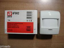 AVE AF962 rivelatore infrarosso IR passivo antifurto 15 metri PIR volumetrico