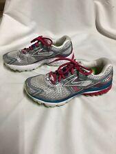 Women's Brooks Ravenna 6 Running Shoes White Pink Blue Size 7