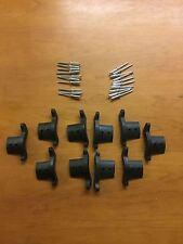 Pack of 10 nylon End Locks & rivets for roller shutters(Left/Right)
