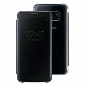 Samsung Custodia originale Clear View Flip Cover Libro Nero Galaxy S7 Edge G935F