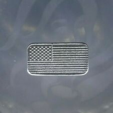 10 x 1 gram USA FLAG STARS & STRIPES silver bars Silver Bullion 999 Purity