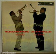 Roy Eldridge & Dizzy Gillespie/Trumpet Battle/Clef/MG/VG+ VG++/DG/Mono/OP 56'