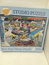 Murder at the Museum -  1000 Piece Story Jigsaw Puzzle-  Studio Puzzle-    NEW