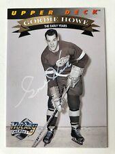 1992-93 Upper Deck Hockey Heroes #19 Gordie Howe Autograph w/certificate