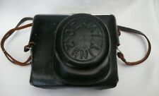Original Hard Black Leather Russian Zenit USSR 35mm Ever Ready Camera Case #2