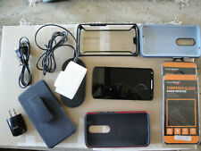 Motorola Droid Turbo 2 32Gb Smartphone - Red, Never under contract, With Extra's