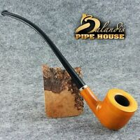 Mr.Balandis originale Pipa legno di pero No 11 CHURCHWARDEN - WIZARD - Honey