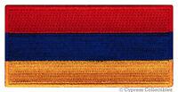 ARMENIA FLAG embroidered iron-on PATCH ARMENIAN EMBLEM applique