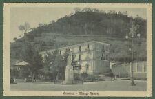 COSENZA. Albergo Vetere. Cartolina d'epoca viaggiata nel 1917.