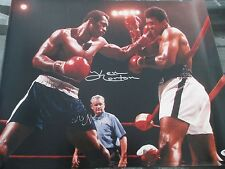 AUTOGRAPHED SIGNED KEN  NORTON 16X20 VS MUHAMMAD ALI PSA/DNA CERTIFIED  STICKER