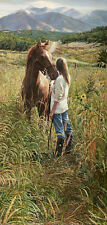 """Field of Dreams"" Steve Hanks Limited Edition Fine Art Giclee Canvas"