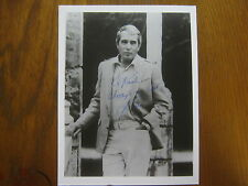 """PERRY  COMO   TV  Singing  Legend (Died in 2001) Signed  8"""" X 10""""   B & W  Photo"""