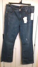 Melisa MCCarthy SEVEN7 Bootcut Jeans Decoy Wash Sz 16W New