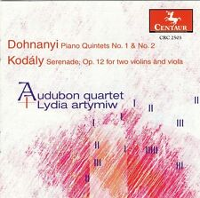 Audubon Quartet - Piano Quintets 1 & 2 / Serenade Op 12 [New CD]