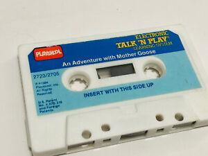 Vintage 1986 Playskool Talk 'N Play Adventure With Mother Goose Cassette Tape