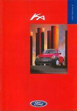 Ford Ka Ka 2 Ka 3 1997-98 Original UK Sales Brochure Pub. No. FA 1269/4