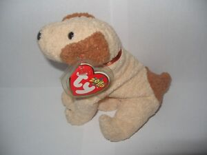 TY BEANIE BABY RUFUS - THE DOG - MINT - RETIRED WITH TAGS