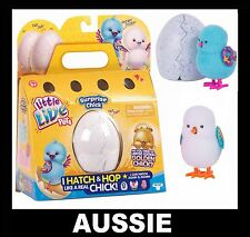 Little Live Pets ~ SURPRISE CHICK Blue/White ~ Hops Chirps Hatch Egg Easter Toy