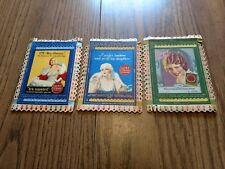 3 vintage Lucky Strike game cards 1930s