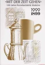 Fachbuch 100 Jahre Porzellanfabrik Walküre Bayreuth, sehr interessantes Buch NEU