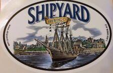 BIG Beer/Brewery Sticker - Shipyard Brewing Co