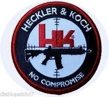 VELC. HK firearms Heckler & Koch No Compromise MP5 Tactical Airsoft Patch