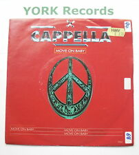 """CAPPELLA - Move On Baby - Excellent Condition 7"""" Single Internal Dance IDS 4"""