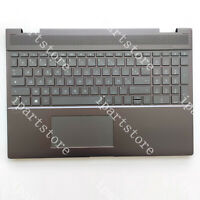 NEW FOR HP Spectre X360 15-CH Palmrest With Backlit Keyboard Touchpad French