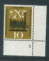 BRD Mi.-Nr. 345 Paar - Ecke 4 - Eckrand mit FN - Formnummer 2 - postfrisch **
