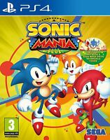Sonic Mania Plus (with ART BOOK) PS4 Playstation 4 Brand New Sealed